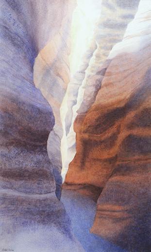 Slot Canyon at Tent Rocks