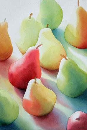 Lightstruck Pears