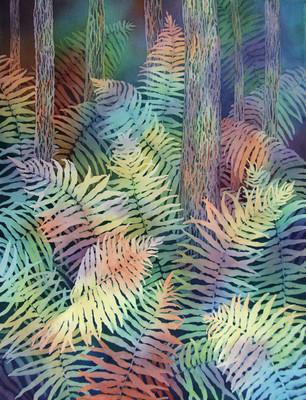 Kaleidoscopic Ferns