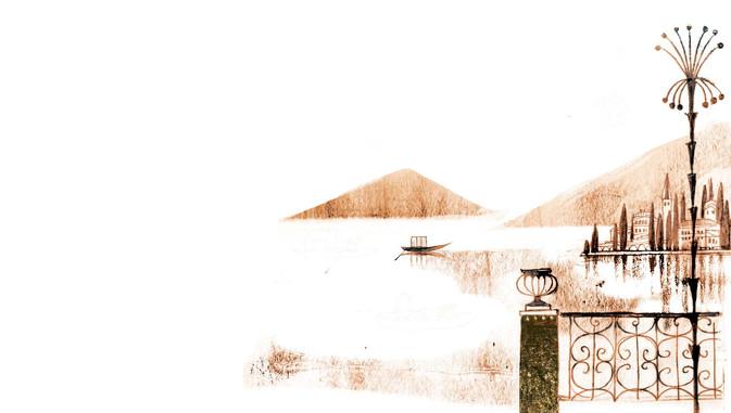 Alessandro Manzoni / Quel ramo del lago di Como