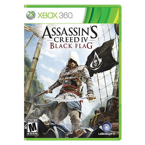 Assassins Creed 4 Black Flag Xbox 360