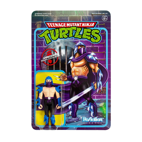 Figura Shredder Weapon: Cutting Armor Super Seven