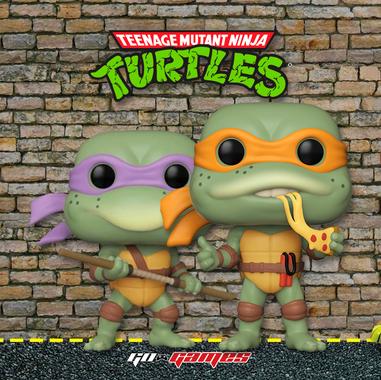 Funko Pop Tortugas Ninja