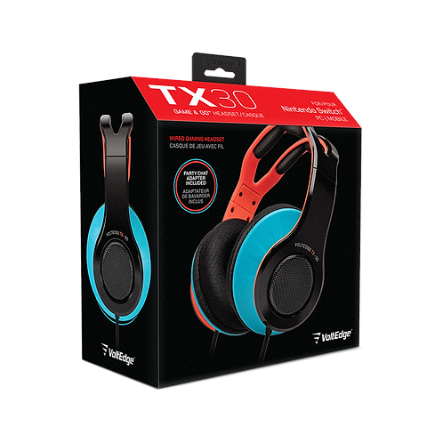 Headset TX30 Wired Nintendo Switch
