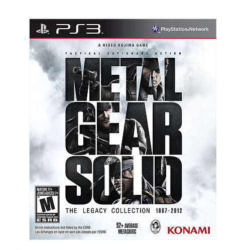 Metal Gear Legacy Collection Ps3