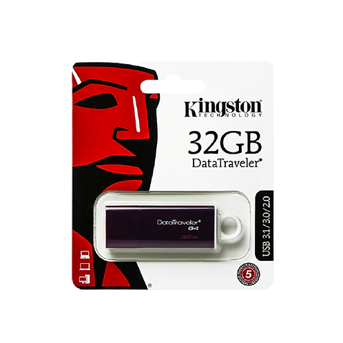 Kingston  32GB USB 3.0 Datatrave DTIG3 Purple