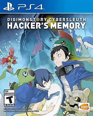 Digimon Story Cybersleuth Hacker'S Memory Ps4