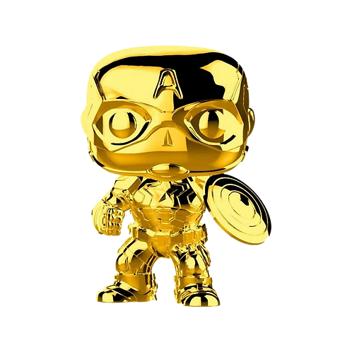 Funko Captain America Dorado 377