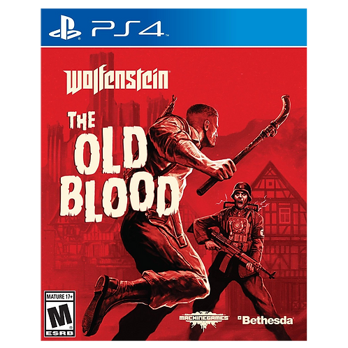 Wolfenstein Old Blood Latam Cover Ps4