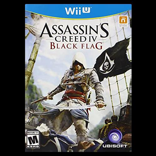 Assassins Creed 4 Black Flag Wii U