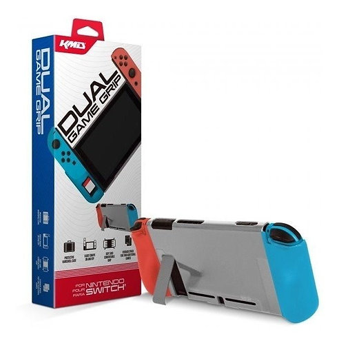 Switch - Dual Game Grip Case (Red/Blue) - (Kmd)