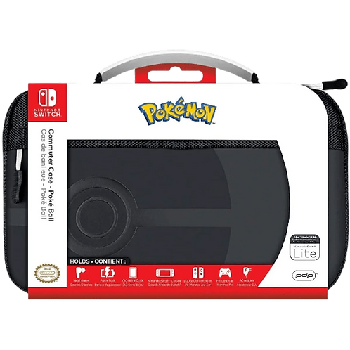Commuter Case Pokeball- Elite Edition (PDP) Nintendo Switch Switch Lite