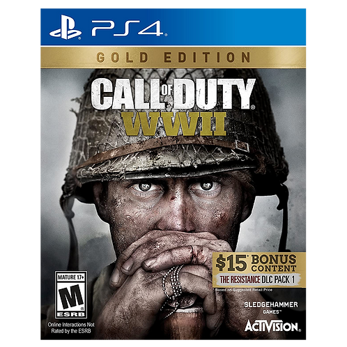 Call Of Duty Ww2 Gold Ps4