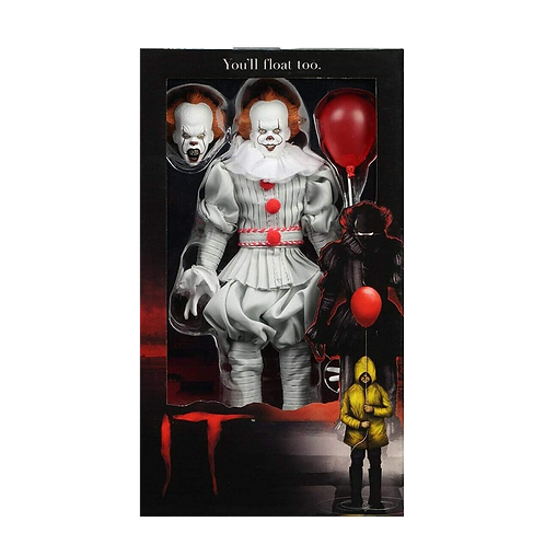 """IT (2017) - Retro Clothed Action Figures - 8"""" Pennywise"""