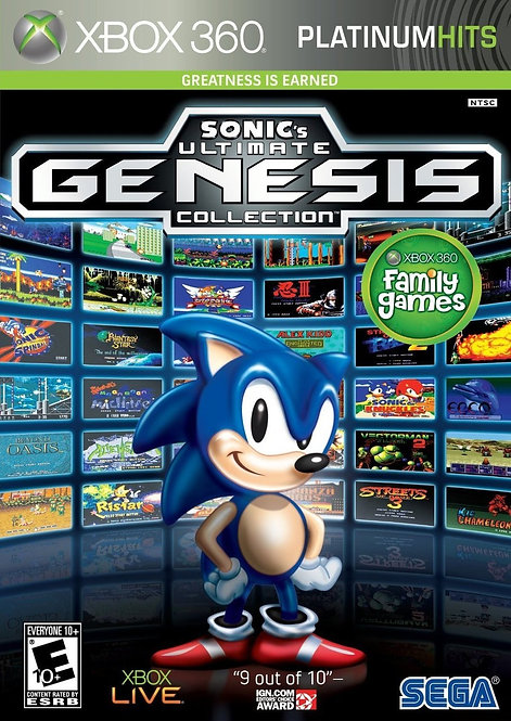 Sonic Ultimate Genesis Collection Xbox 360