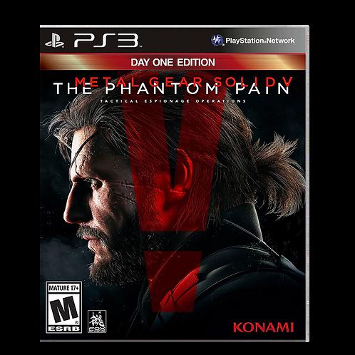 Metal Gear V Phantom Pain Ps3