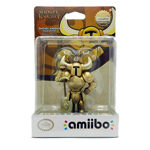 Amiibo Shovel Knight Gold