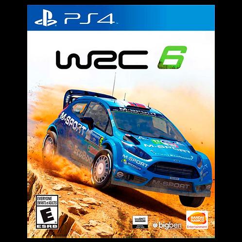 WRC 6: World Rally Championship Ps4