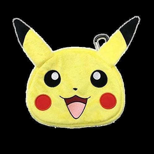 Case New 3Ds Xl Plush Pouch Pikachu.- 3Ds