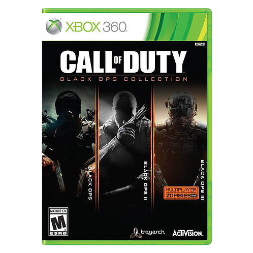 Call Of Duty Black Ops Collection Xbox 360