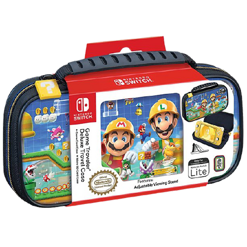 Case Super Mario Maker 2 Deluxe Travel Case (RDS)