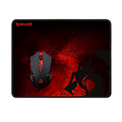 Combo 2 en 1 ReDragon: Mousepad Y Mouse M601WL-BA