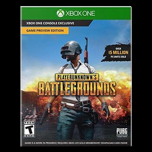 Player Uknow Battlegrounds Xbox One