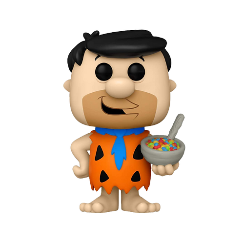 Funko Fred Flinstone With Fruity Pebbles 119