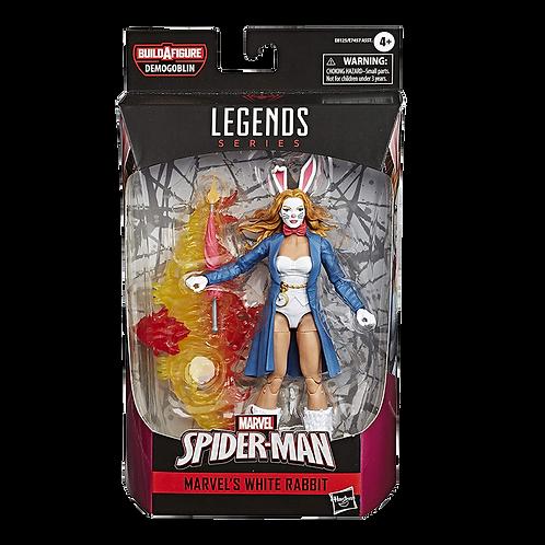 Figura Marvel Legends Spider-Man Marvels Whithe Rabit