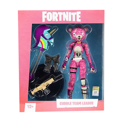 "Fortnite Figures - 7"" Scale Cuddle Team Leader"