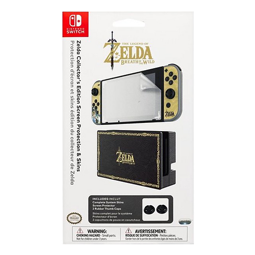 Zelda Collectors Edition Screen Protection & Skins .-Nsw