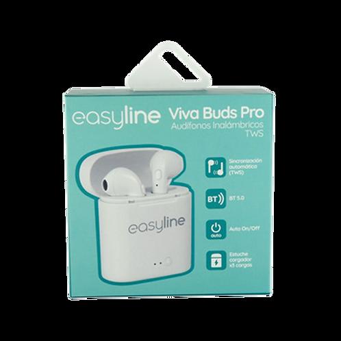 Easyline Audifonos Inalambricos Viva Buds Pro Blanco