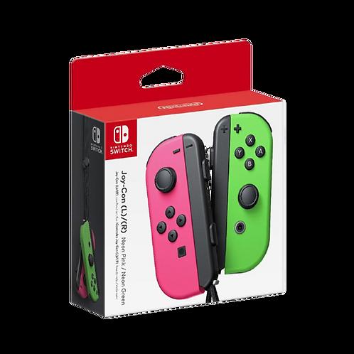 Joy Con Neon Rosa Verde Switch