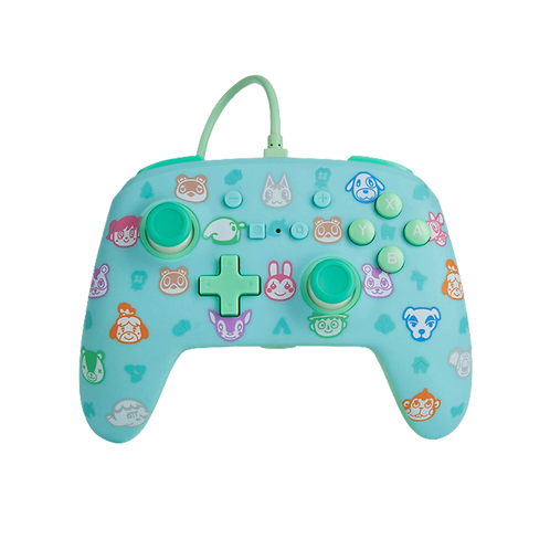 Wired Controller Animal Crossing Switch PowerA