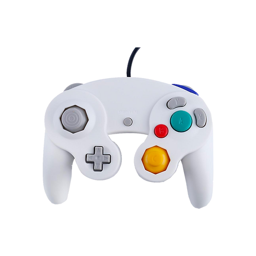 Gc Controller - Wired - White (For Gamecube/Wii U/Wii)