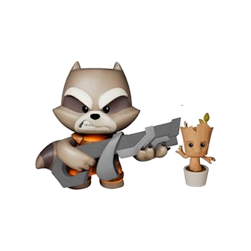 Figura Rocket And Groot Super Deluxe Guardians