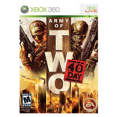 Army Of Two: 40Th Day Xbox 360