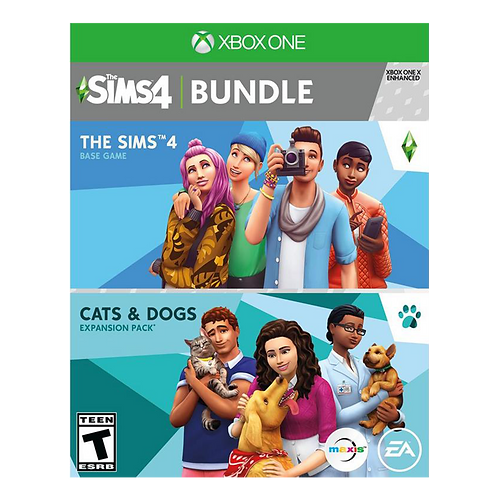 The Sims 4 Bundle Cats And Dogs  Xbox One