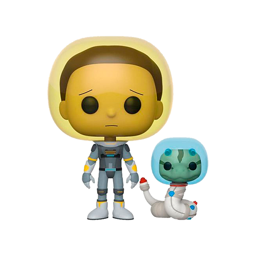 Funko Space Suit Morty With Snake 690