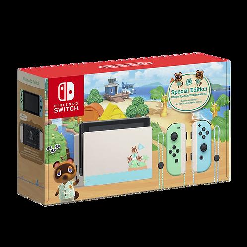Consola Nintendo Switch Edición Animal Crossing