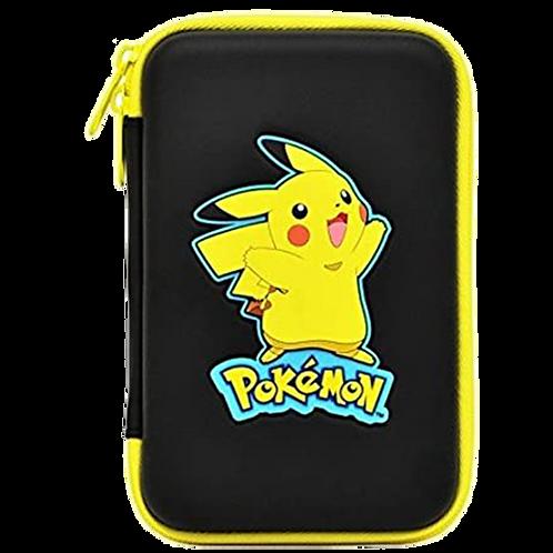 Pikachu Hard Pouch Black Case 3Ds Xl