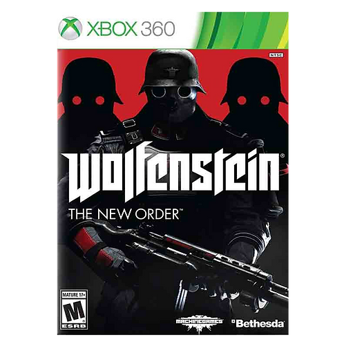 Wolfenstain The New Order xbox 360