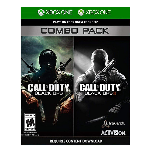 Call Of Duty Black Ops Combo Pack Xbox 360