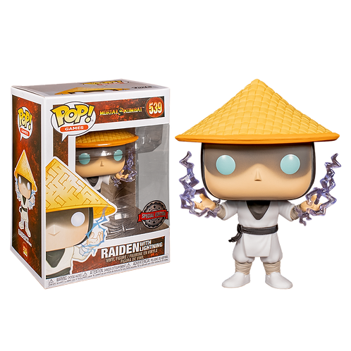 Funko Raiden With Lightning 539 Special Edition