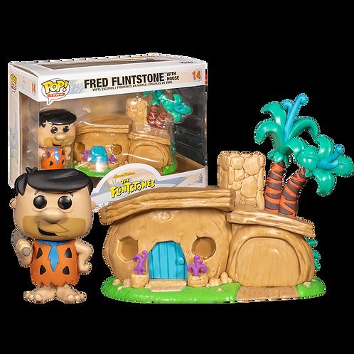 Funko Fred Flintstone With House 14