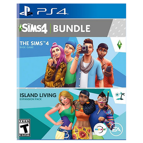 The Sims 4 Plus Island Living Ps4