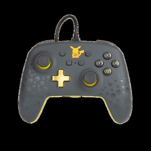 Wired Controller Switch Pikachu Grey 01 PowerA