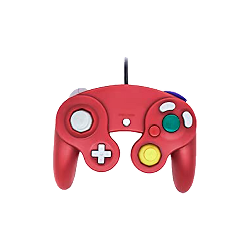 Gc Controller - Wired - Red (For Gamecube/Wii U/Wii)