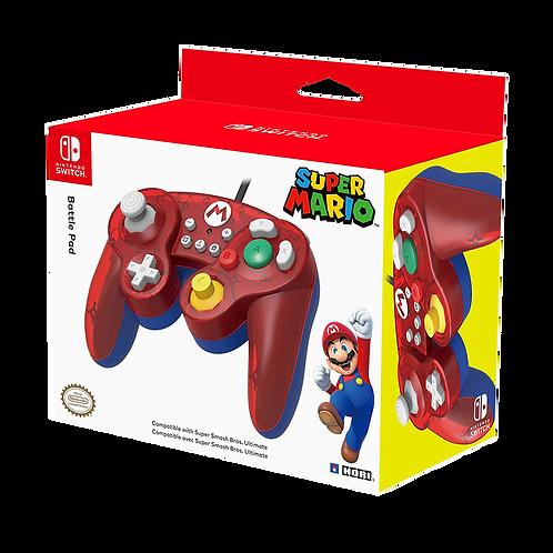 Controller Battle Pad Mario Hori.-Switch