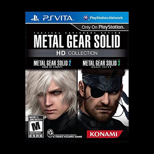 Metal Gear Hd Collection Ps Vita